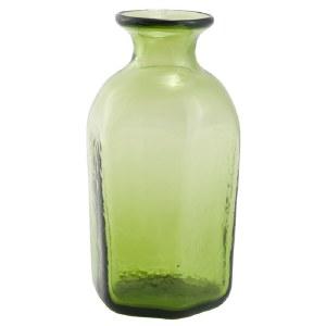 Green Glass Vial