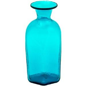 Teal Glass Vial