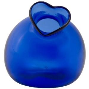 Hand blown Glass Shaker - Cobalt