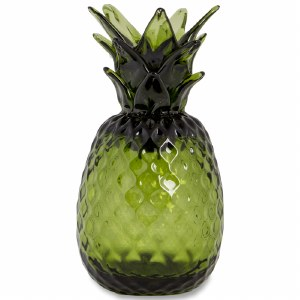 Green Glass Pineapple