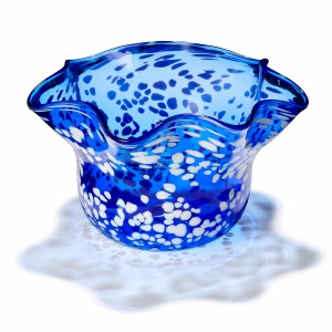Cobalt Speckled Bowl