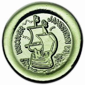 Discover Jamestown VA Paperweight