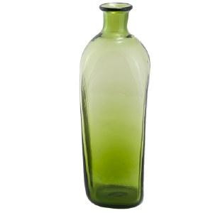 Green Glass Case Bottle
