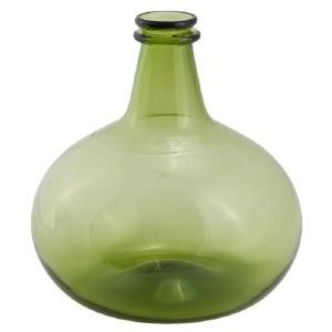 Green Glass Onion Bottle