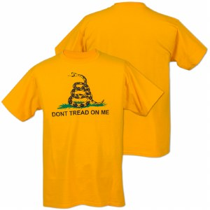DON'T TREAD ON ME (Gadsden Flag) Short-Sleeve T-Shirt - XL