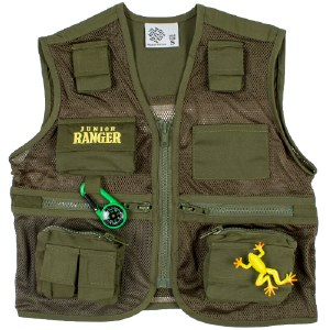 Junior Ranger Wild Wild Vest Large