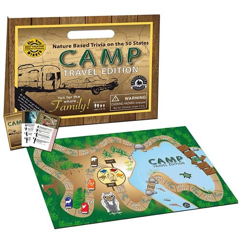 Camp Board Game Travel Edition Shop Americas National Parks