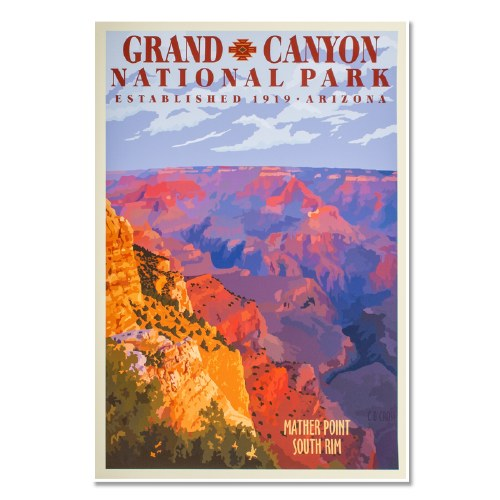 Grand Canyon National Park Poster Shop Americas National Parks
