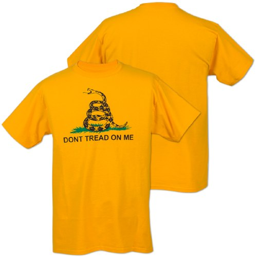 Dont Tread On Me Shirt >> Don T Tread On Me Gadsden Flag Short Sleeve T Shirt Small