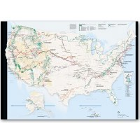 National Trails System Map and Guide