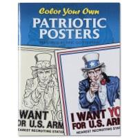 Patriotic Posters Coloring Book