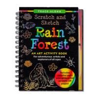 Rainforest Scratch and Sketch Book