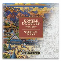 Dowdle Doodles Creative Coloring for All Ages: National Parks