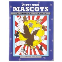 Civil War Mascots Coloring Book