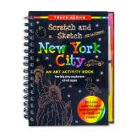 New York City Scratch and Sketch Book