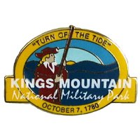 Kings Mountain NMP Lapel Pin