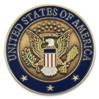 United States Seal Pin