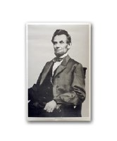 Abraham Lincoln Seated Poster
