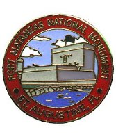 Fort Matanzas Lapel Pin