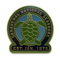 Canaveral National Seashore Turtle Pin