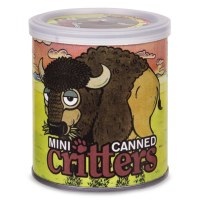 Mini-Canned Critters: Big Sky the Buffalo