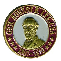 Robert E Lee Lapel Pin