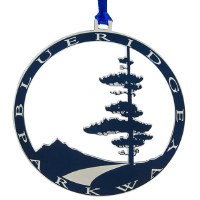 Blue Ridge Parkway Logo Ornament