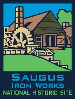 ANP Saugus Iron Works NHS Pin