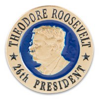 Theodore Roosevelt Collectible Lapel Pin