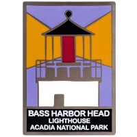 Acadia National Park Bass Harbor Head Light Pin