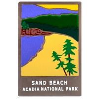 Sand Beach Pin