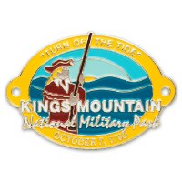Kings Mountain National Military Park Hiking Stick Medallion