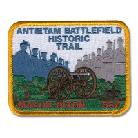 Antietam Battlefield Historic Trail Patch - Mason-Dixon BSA