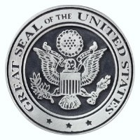 Great Seal Pewter Magnet