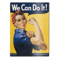 """We Can Do It!"" Magnet"