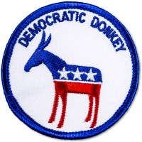 Democratic Donkey Patch