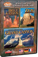 Bryce Canyon, Zion, and North Rim of the Grand Canyon DVD