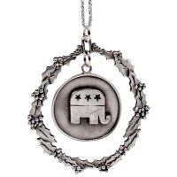 Ornament Republican Elephant