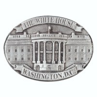 The White House Pewter Magnet