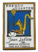 Jean Lafitte NHP&P French Quarter Pin