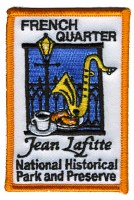 Jean Lafitte NHP&P French Quarter Patch