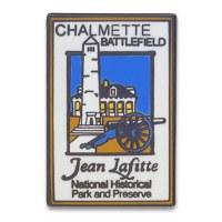 Jean Lafitte: Chalmette Battlefield Pin