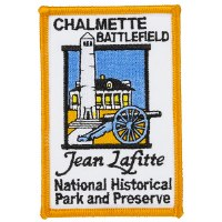 Jean Lafitte Chalmette Battlefield Patch