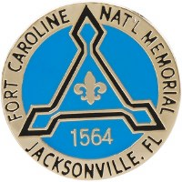 Fort Caroline NM Pin