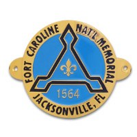 Fort Caroline Hiking Medallion