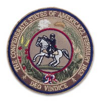 Great Seal of the Confederacy Patch