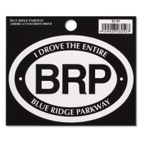 I drove the Entire Blue Ridge Parkway Decal
