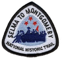 Selma to Montgomery National Historic Trail Patch