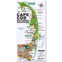 Cape Cod Map Magnet