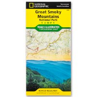 Great Smoky Mountains National Park Trails Illustrated Topographical Map